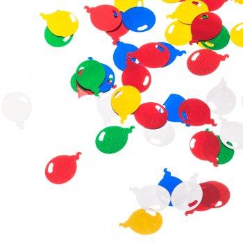 """Паєтки """"повітряні кульки"""", мікс кольорів, 15 мм"""