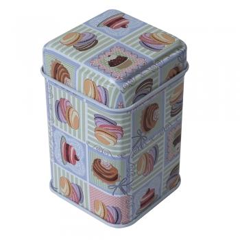 Коробочка жестяная 7х4,4 см