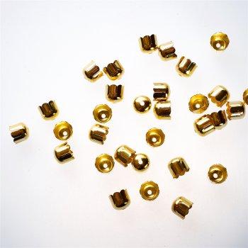 Колпачки золотые 8 лепестков