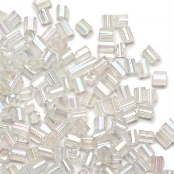 Бісер-рубка прозорий 2.1 мм скло