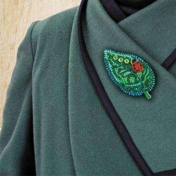 """Набор для вышивки бисером украшения на натуральном художественном холсте """"Маленькая гостья"""""""