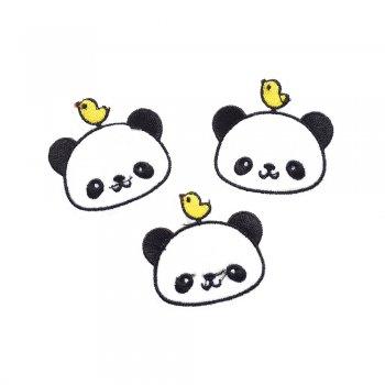 Тканинна нашивка Панда