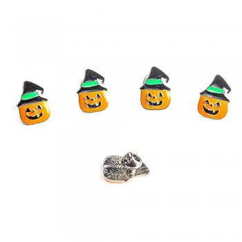 Значок пин Тыква на Хэллоуин