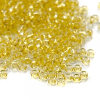 01151 чешский бисер Preciosa 5г  желтый