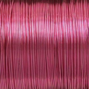 Дріт алюмінієвий 0,6 мм світло-рожевий котушка 20 м (+-10%)