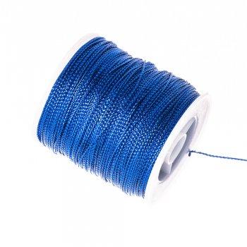 Нитка люрексова, синя, 1 м
