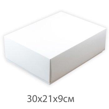 Коробочка картонна біла