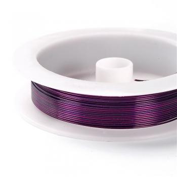 Дріт мідний фіолетовий 0,8 мм