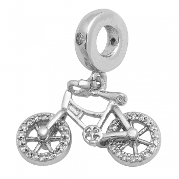 Бусина  Шарм  LUX с подвеской Велосипед