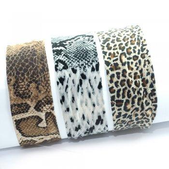 Резинка-обруч для волос Животный принт