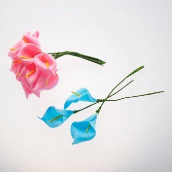 Штучні квіти. Мікс кольорів