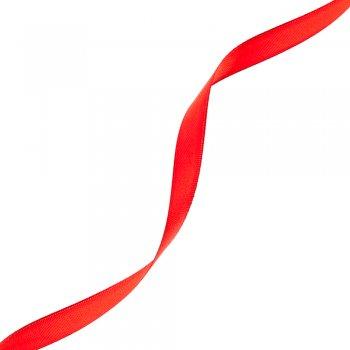 Стрічка атласна 10 мм червона