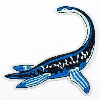 Тканинна нашивка Динозавр еласмозавр