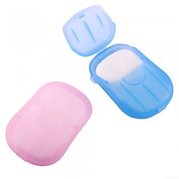 Бумажное мыло в пластиковых боксах (в упаковке 20шт)