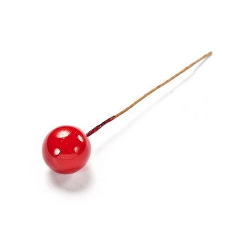 Декор Тёмно-вишнёвые ягодки, 12 мм