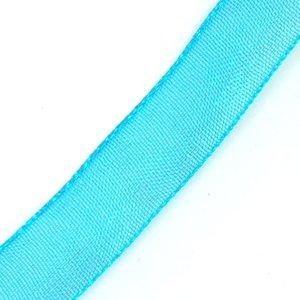 Стрічка з органзи 1 см голубий