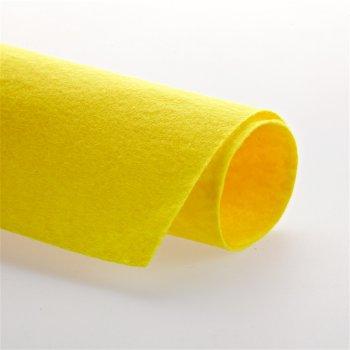 Фетр желтого цвета