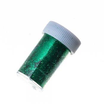 Блестки для декорирования, в кор. Зеленый. Длина 50 мм, ширина 31 мм.