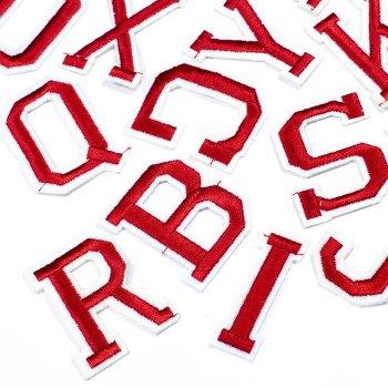 Тканевая нашивка Буквы