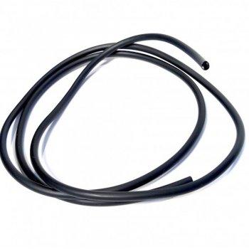 Шнур чорний полівінілхлорид каучук 2 мм
