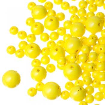 Пластик одноцветный желтый неоновый