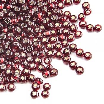 97120 чешский бисер Preciosa 5г  красный