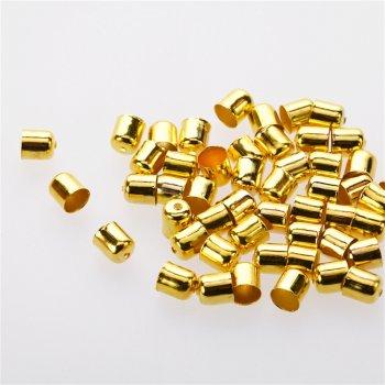 Конусы и колпачки золотые 7 мм