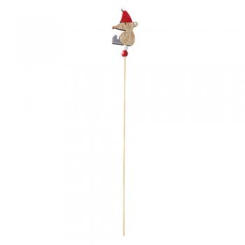 Дерев'яний декоративний елемент Мишка