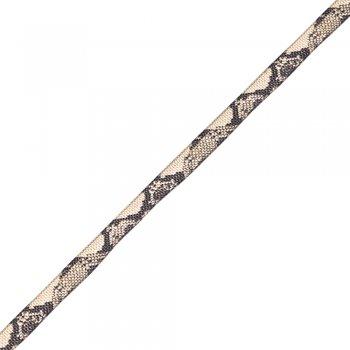 Стрічка репсова, з візерунком під пітона, 10 мм