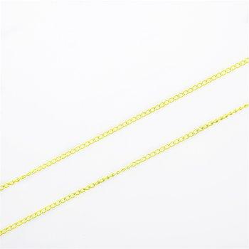 Ланцюг кольоровий дрібний панцирний 3х4х0,7 мм