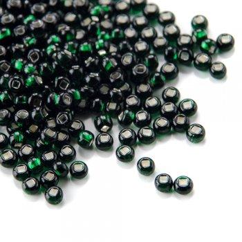57150 чешский бисер Preciosa 50г  зеленый
