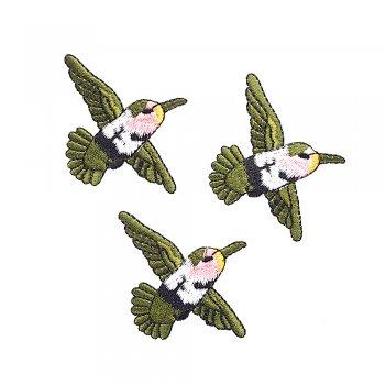 Тканевая нашивка Птичка