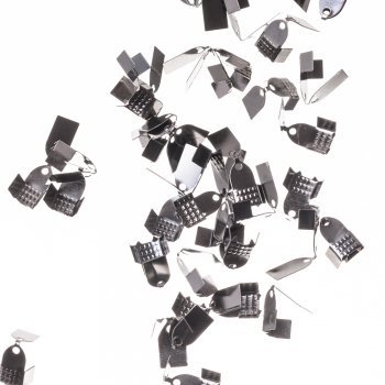 Затискачі для основ темно-сталевий 10 мм