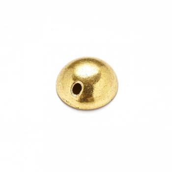 Металева фурнітура. Золото. Ковпачок великий.