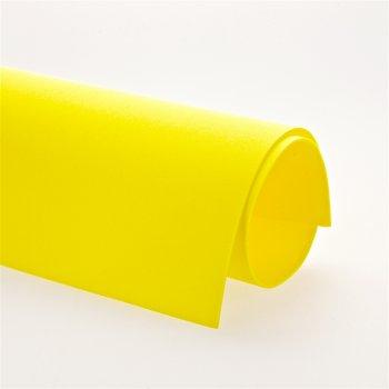 Фоамиран, желтый, (Иран, 05) А4, 1мм