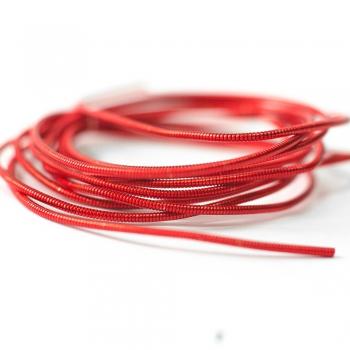 Канитель жорстка червона 1,2 мм (0,006кг)