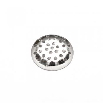 Решетчатые основы для брошей, мельхиор, 20 мм