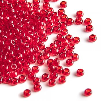 90090 чеський бісер Preciosa 50г червоний