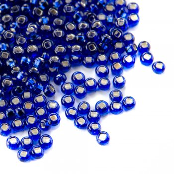 67300 чешский бисер Preciosa 5г  синий