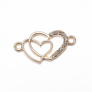 Переходник, декоративный элемент, соединитель  Два Сердца