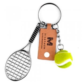 Пластиковая подвеска Ракетка для большого тенниса