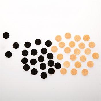 Круглая основа для броши 15 мм, полиэстер