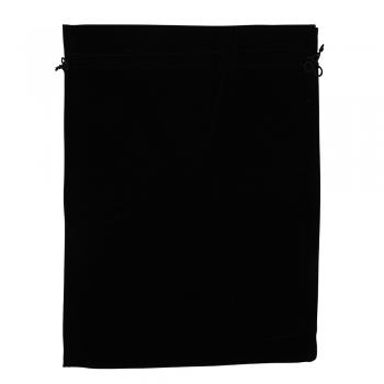 Декоративный мешочек бархатный 40х30 см черный