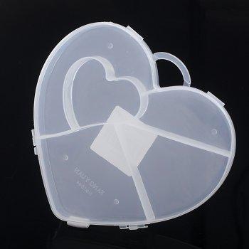 Контейнер сердце в сердце 15*16*2 см