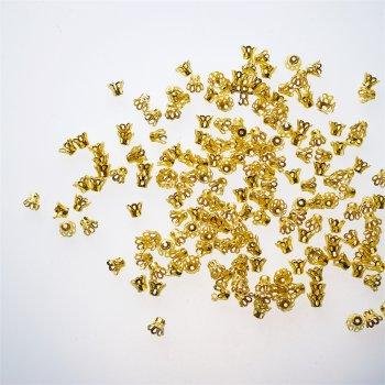 Конуси ажурні золото 5 мм