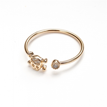 Металическое кольцо Череп LUX