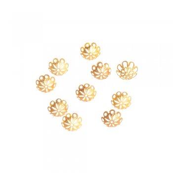 Обіймачі золото коло 15 мм