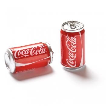 Пластиковая  подвеска Coca-Cola