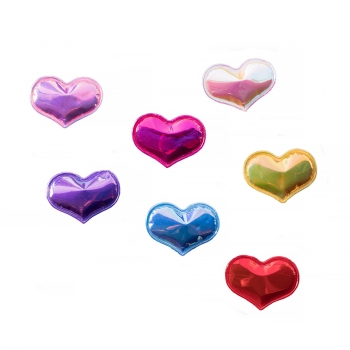 Декоративний елемент серце голограмне