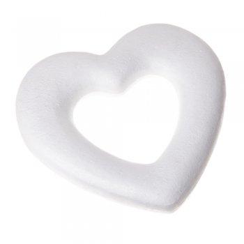 Пенопластовая заготовка, сердце 19 см